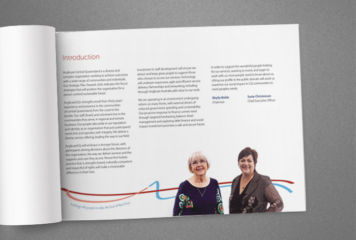 Anglicare Strategic Plan inside page