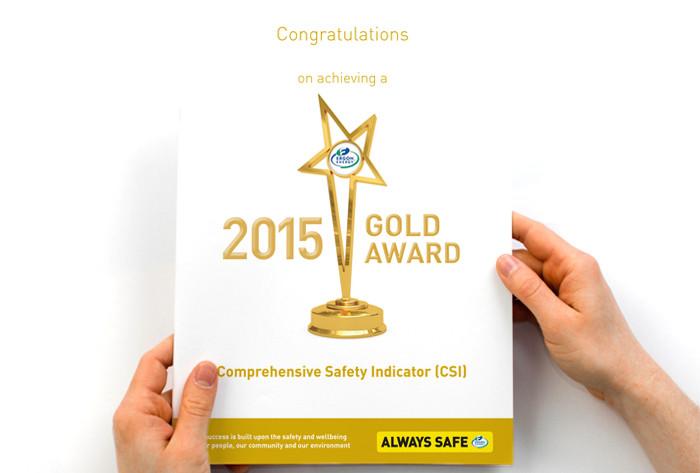 Ergon Energy Safety Awards certificates
