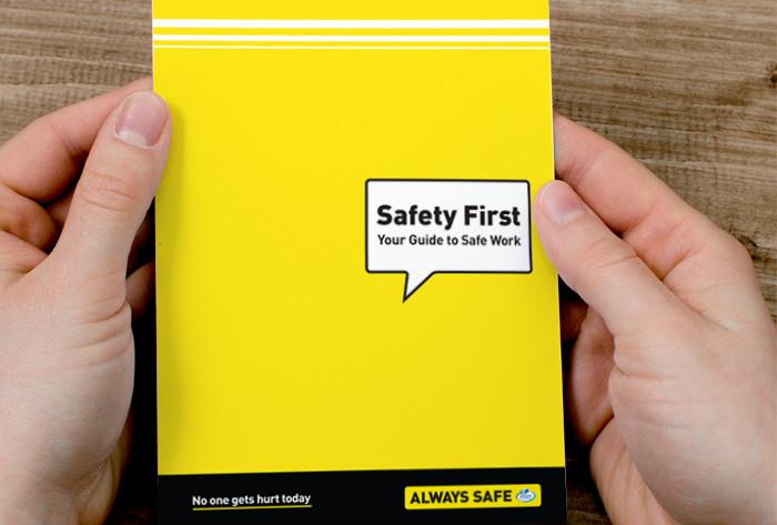 Ergon Energy safety first pocketbook