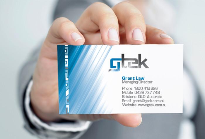 GTEK business card