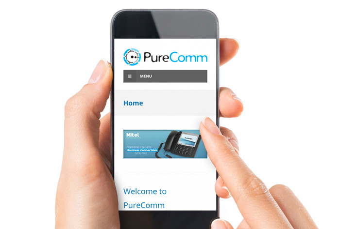 Purecomm website