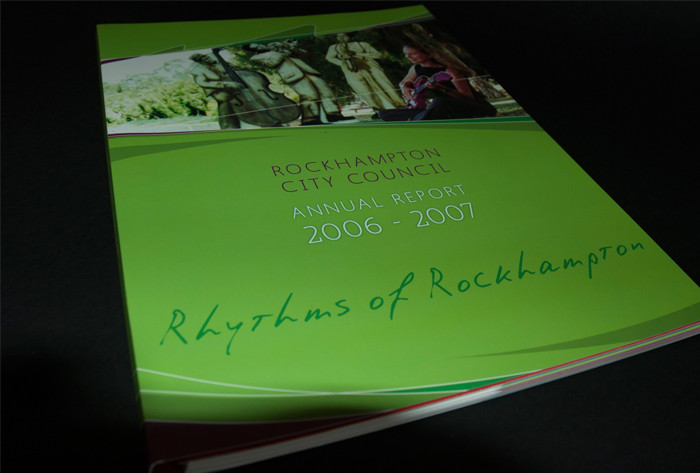 Rockhampton Regional Council Annual Report 2007 cover