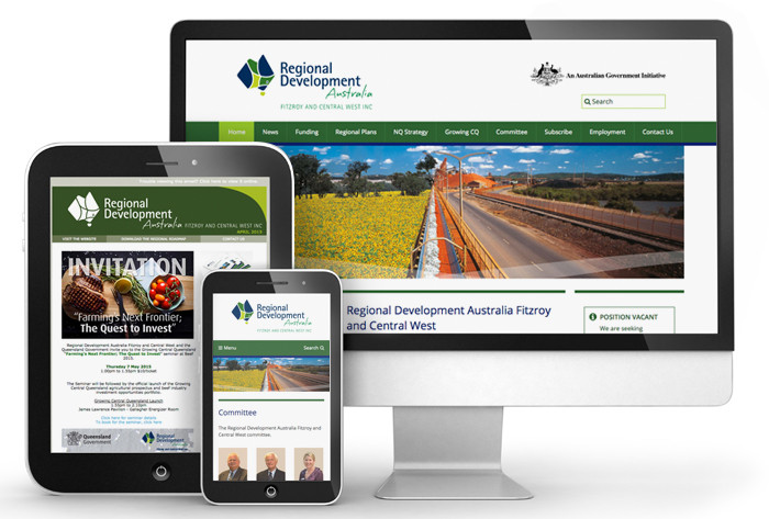 Regional Development Australia Fitzroy and Central West digital suite