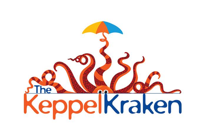 The Keppel Kraken Logo